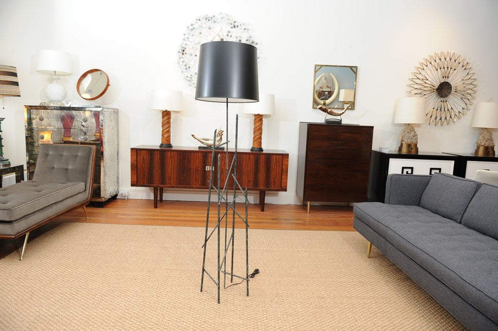 Italian Floor Lamp At 1stdibs