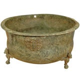 Roman Bronze Bowl, decorated with reliefs of Medusa