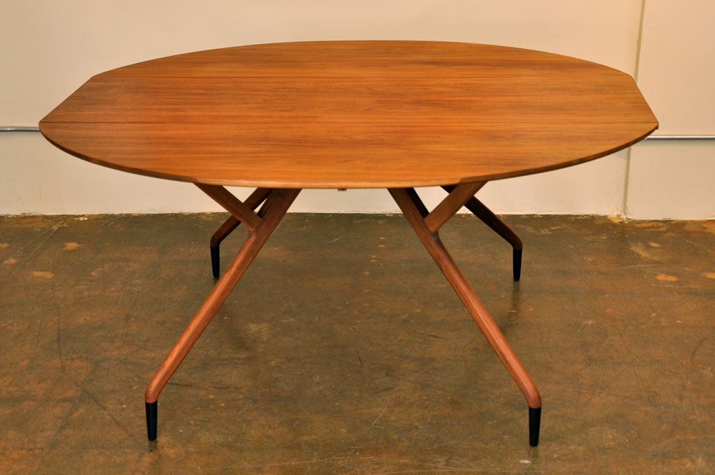 quotSpider quot drop leaf dining table by Ed Frank for Glenn of  : DSC0330 from 1stdibs.com size 1024 x 680 jpeg 93kB