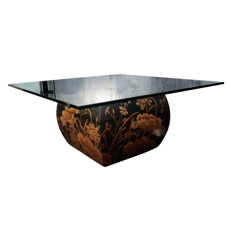 Asian Inspired Coffee Table At 1stdibs