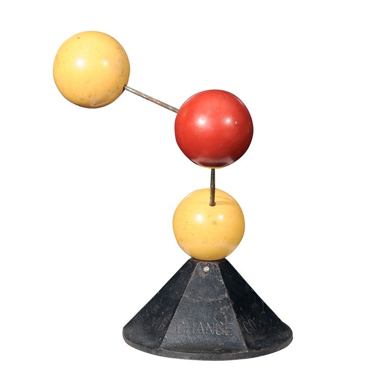 Industrial Molecular Structure at 1stdibs