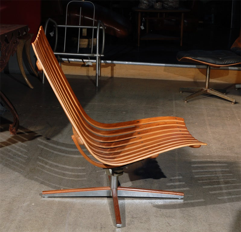 Hans brattrud pivot lounge chair for hove for sale at 1stdibs for Furniture hove