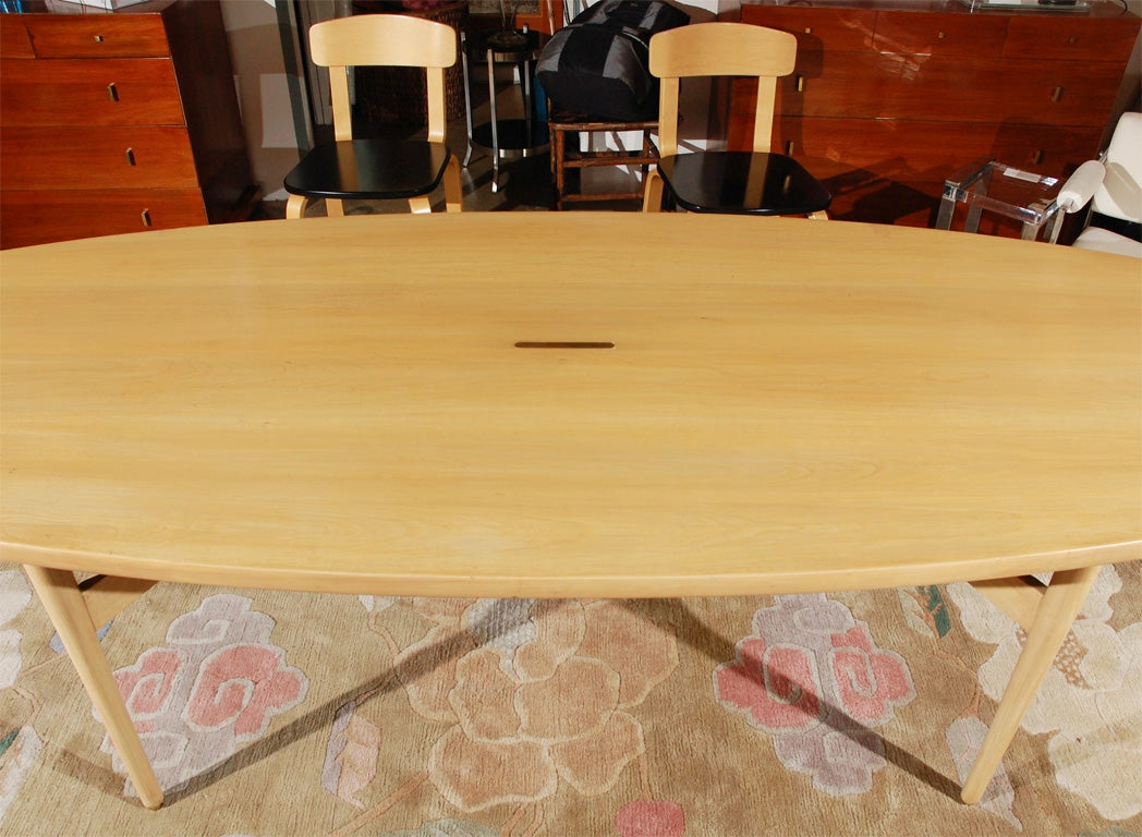 Surfboard Shaped Dining Table At 1stdibs
