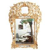 Very Elegant 18th Century Venetian Gilt Wood Mirror