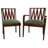 Classic Paul Frankl Dining Chairs Johnson Furniture
