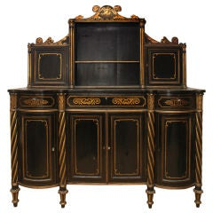 French 19th Century Rare and Unique Cabinet