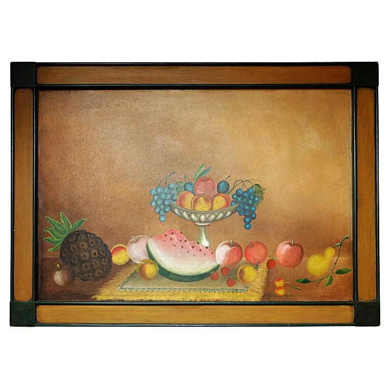 American 19th Century Still Life Painting For Sale