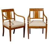 Pair Karl Johan Armchairs