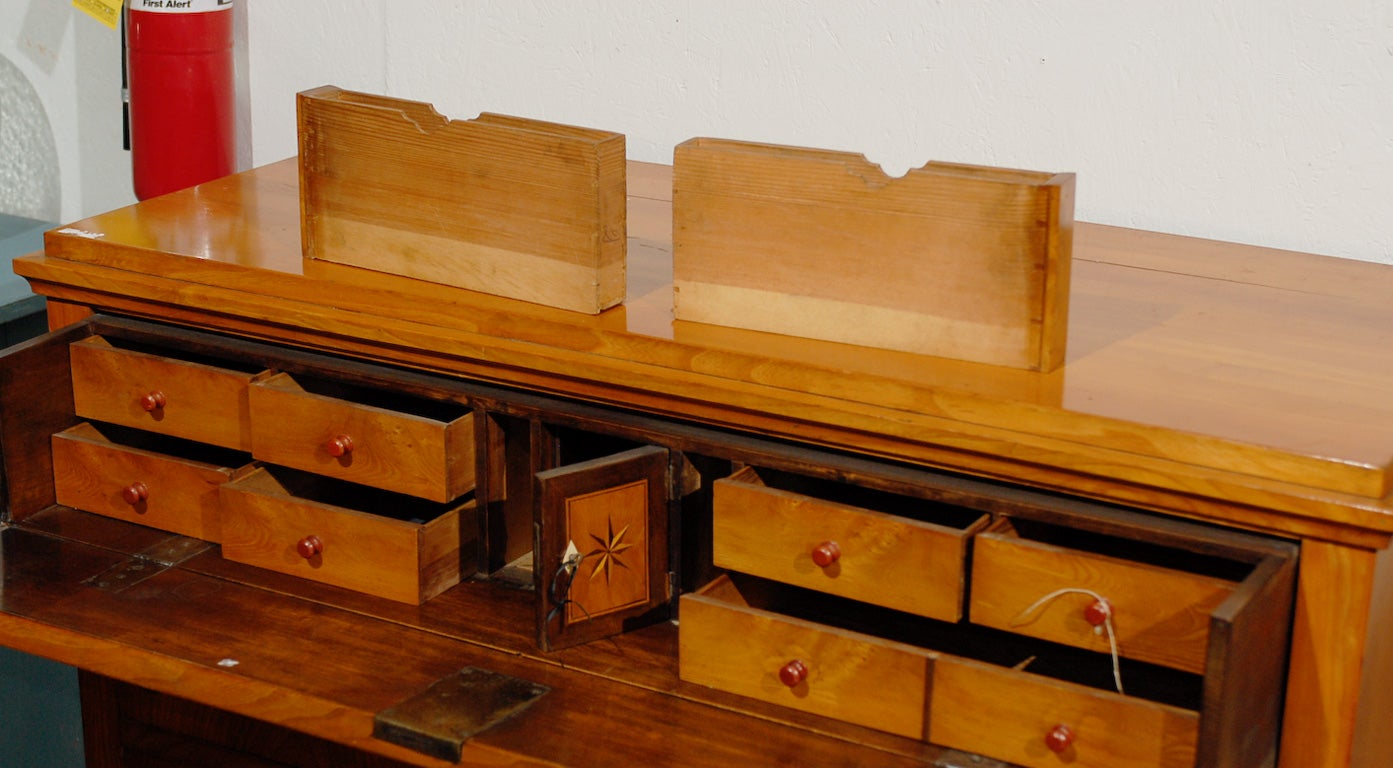 19th Century Swedish Period Karl Johan Butler's Desk For Sale 3