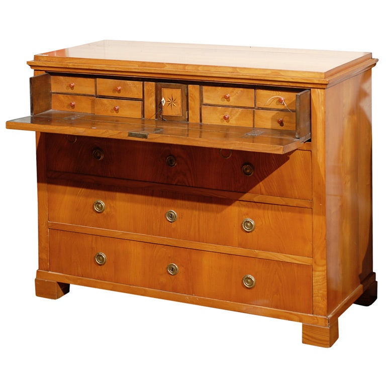 19th Century Swedish Period Karl Johan Butler's Desk For Sale