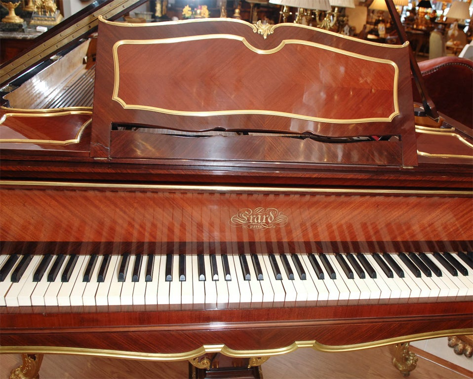 19th Century Signed Francois Linke Piano by Erard 6
