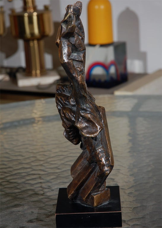Baruch Saktsier bronze signed and numbered 4/9 For Sale 3