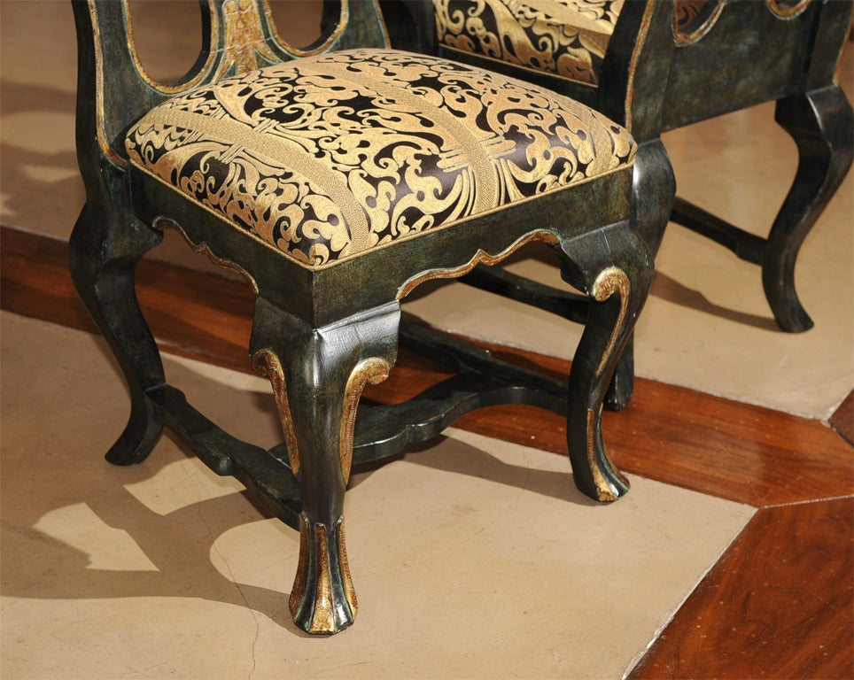 Portuguese style dining chairs at stdibs