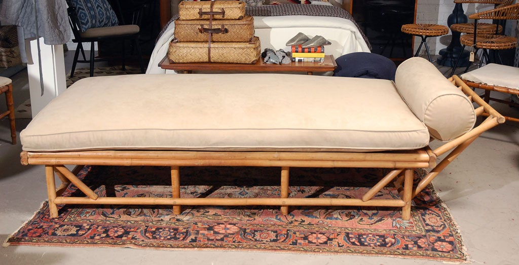 Stylish Bamboo Daybed At 1stdibs