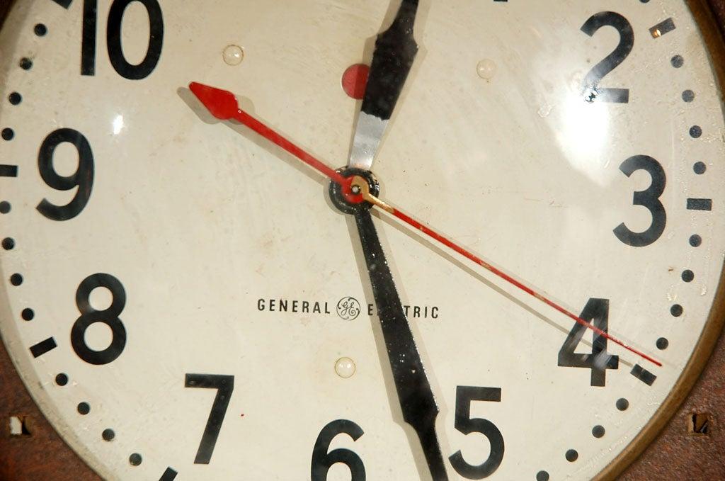Vintage General Electric Wall Clock At 1stdibs
