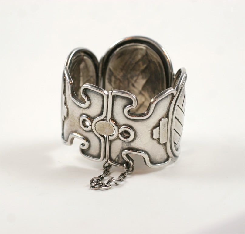 Mid-20th Century William Spratling Vintage Petate Bracelet For Sale