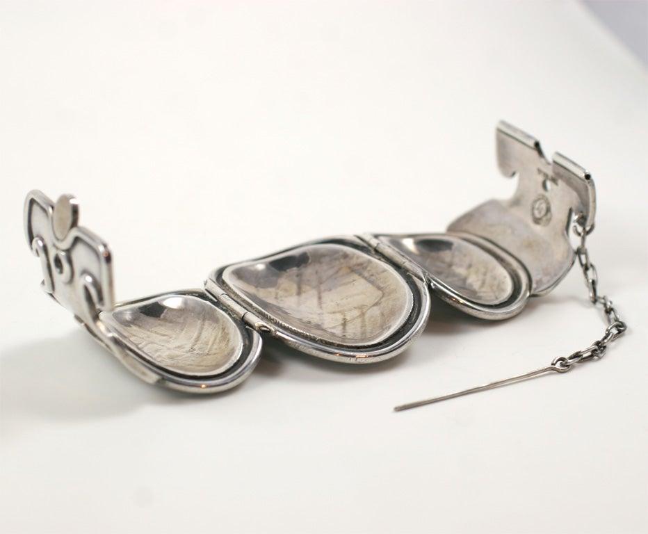 William Spratling Vintage Petate Bracelet For Sale 3