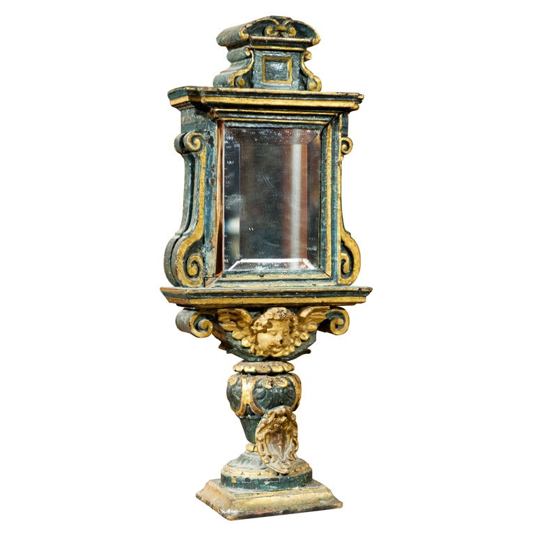 Carved And Gilt Reliquary At 1stdibs