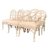 After Frances Elkins Elegant Loop Chairs