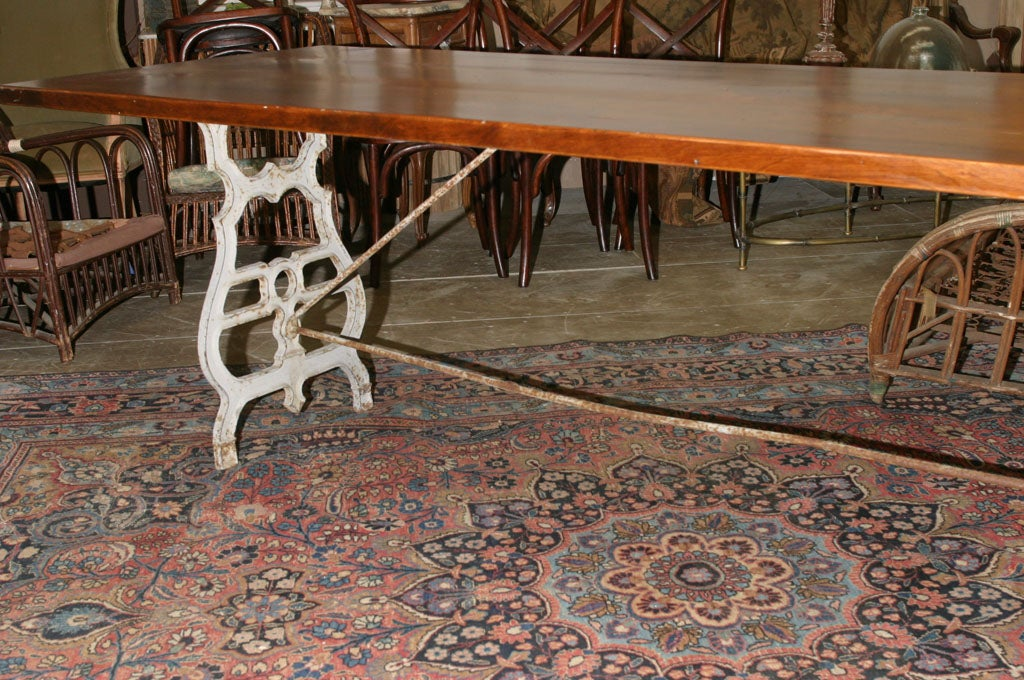 Cherry Wood Dining Room Tble
