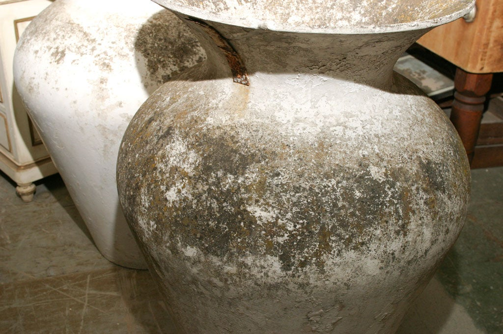 Pair of Oversize French Urns For Sale 3