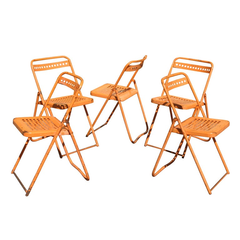 bamboo folding chair at 1stdibs