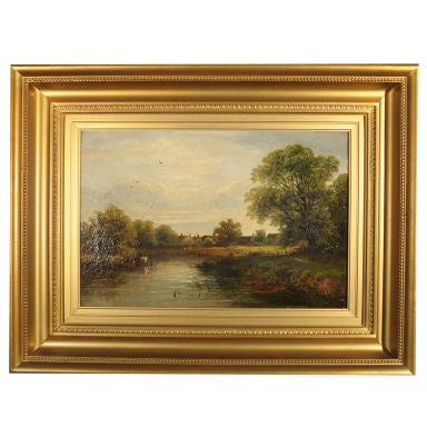 Landscape Oil Painting by David Payne, R.S.A.