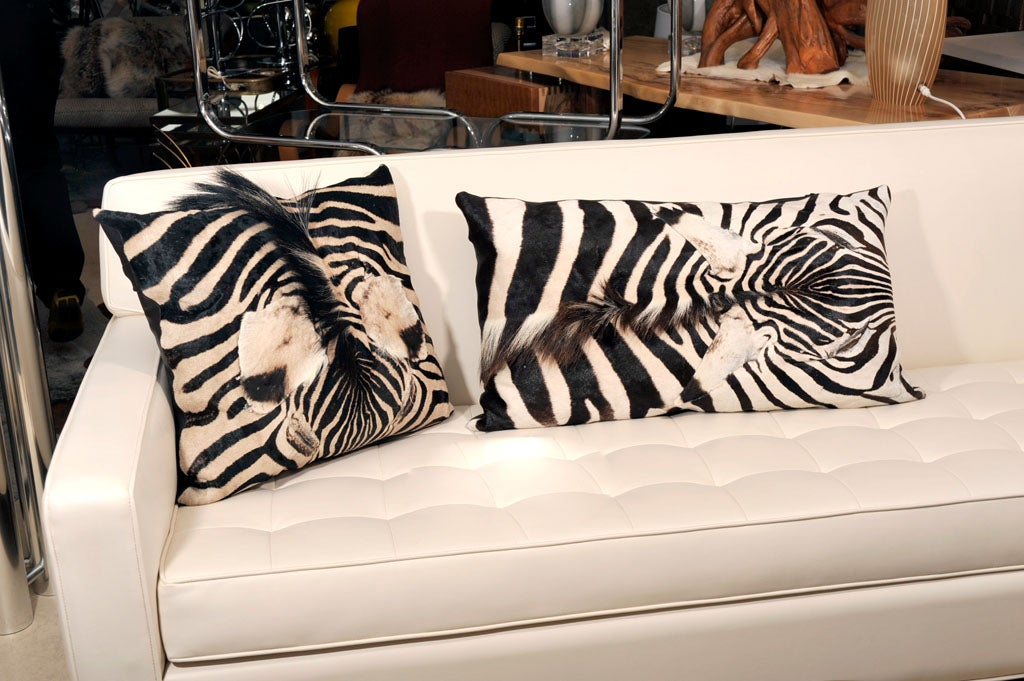 Pillows, Zebra, Offered by Area ID For Sale 1