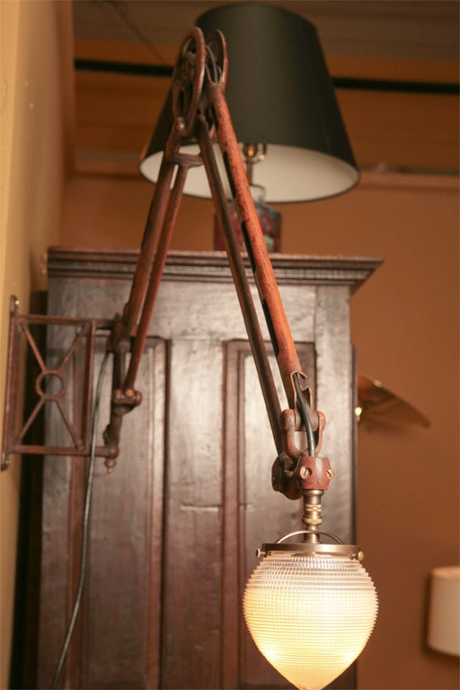 Early Electric Wall Sconces : Early Electric Wall Mounting Lamp. at 1stdibs