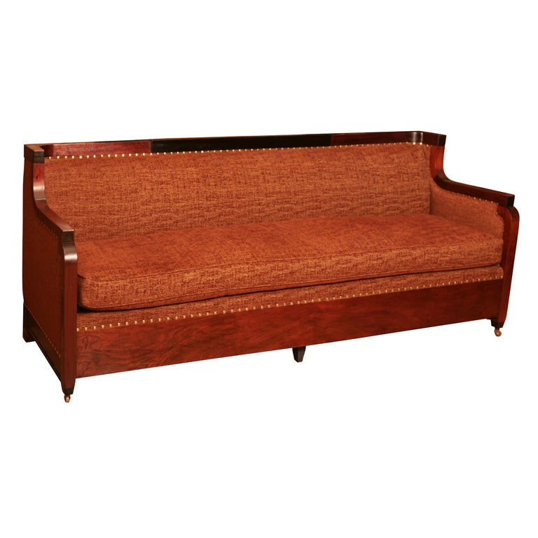 American Edwardian Period Sofa At 1stdibs