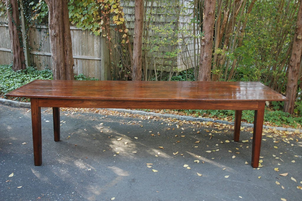 9 foot 3 inch long english farmhouse dining table at 1stdibs for 5 foot dining room table