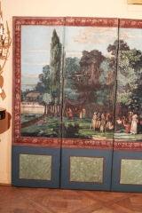 Dufour French Wallpaper Panel Screen, Circa 1815 image 3