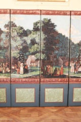 Dufour French Wallpaper Panel Screen, Circa 1815 image 4