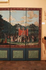 Dufour French Wallpaper Panel Screen, Circa 1815 image 5