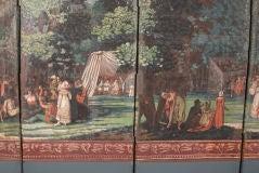 Dufour French Wallpaper Panel Screen, Circa 1815 image 8
