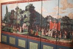 Dufour French Wallpaper Panel Screen, Circa 1815 image 2