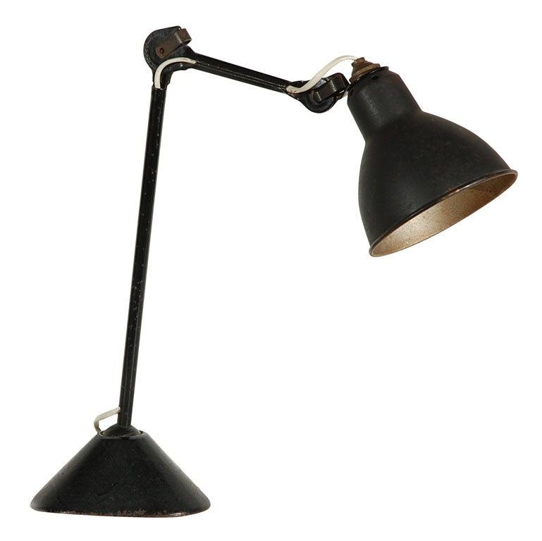la lampe gras at 1stdibs. Black Bedroom Furniture Sets. Home Design Ideas