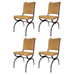 American Empire Style Side Chairs