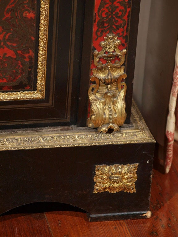 FRENCH NAPOLEON III BOULLE MUSIC CABINET 6