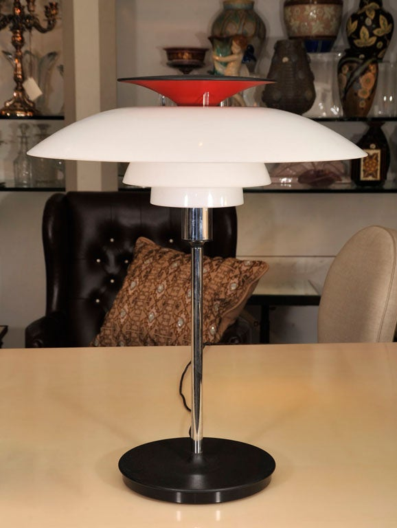 Pair of Table Lamps by Louis Poulsen For Sale 1