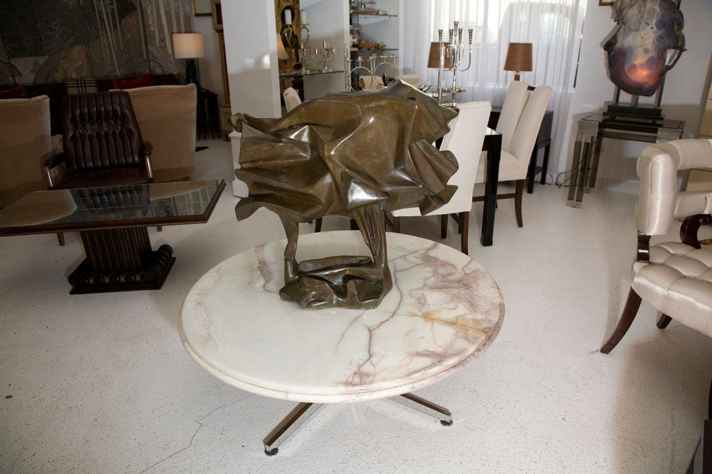 This is a beautiful bronze by noted Chicago artist Abbott Pattison.  This piece is unique and was recently acquired for the Oppenheimer estate in Beverly Hills.  It was originally purchased from the Artist directly and comes with a letter of