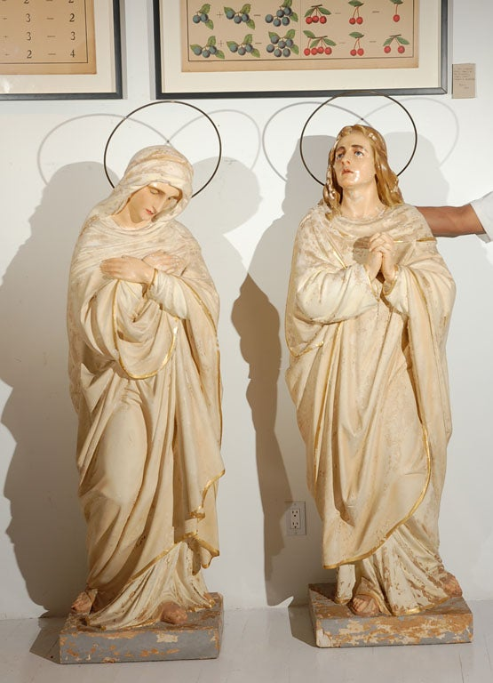 Joseph and Mary Statues 2