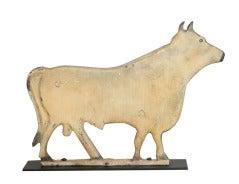 Rare 1 1/4 inch thick Fairbury Bull Windmill Weight