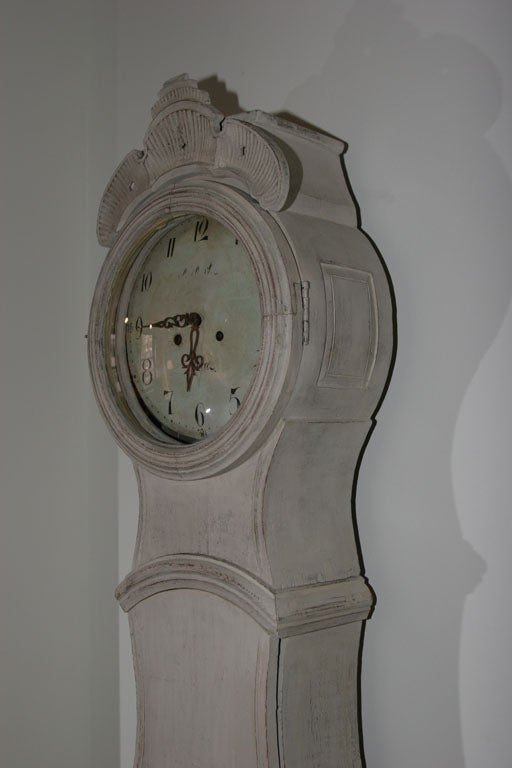 Swedish floor clock at stdibs
