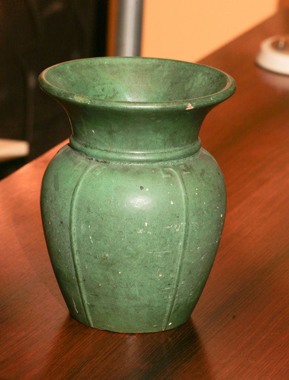 Arts and crafts period pottery vase at 1stdibs for Arts and crafts vases pottery