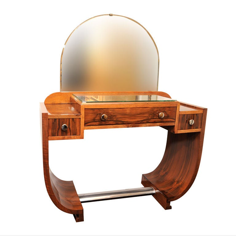 French Art Deco Dressing Table at 1stdibs
