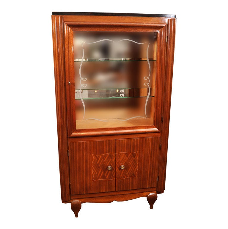 French Art Deco Vitrine For Sale At 1stdibs