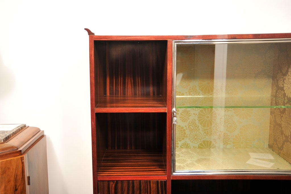 French art deco vitrine by louis majorelle for sale at 1stdibs for Decoration vitrine