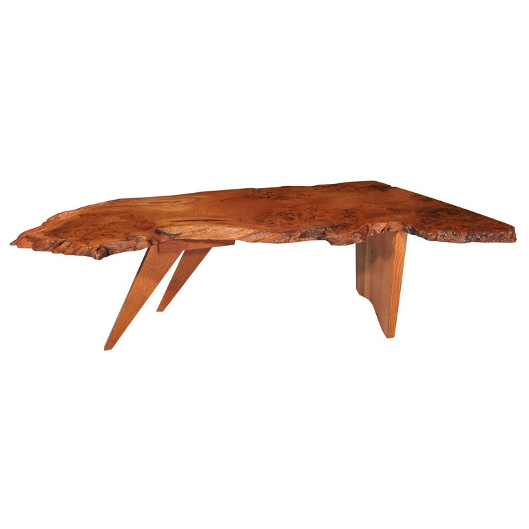 Slab Coffee Table By George Nakashima At 1stdibs