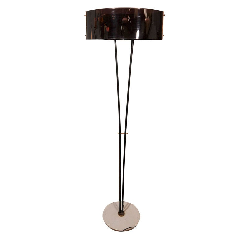 1950's Floor Lamp In the Style of Stilnovo